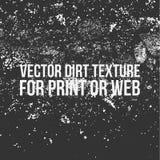 Texture de saleté de vecteur pour la copie ou le Web Photographie stock