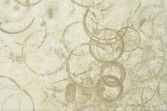 Texture de séchage de tache de la corrosion acide Image libre de droits
