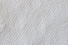 Texture de serviette de papier Photographie stock