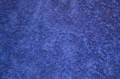 Texture de serviette pourpre de coton Photos libres de droits