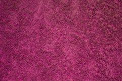 Texture de serviette rouge de coton Images stock