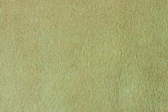 Texture de serviette verte Photos libres de droits