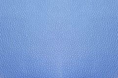 Texture de similicuir, couleur bleue photo stock