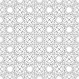 Texture de Simular avec les ornements géométriques linéaires Photographie stock