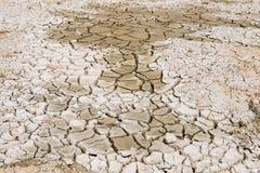 Texture de sol de fissures images libres de droits