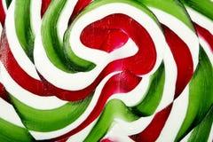 Texture de sucrerie de Noël Photo libre de droits