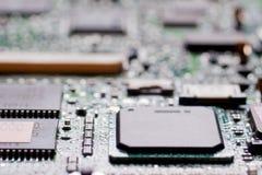 Texture de surface de pièce d'ordinateur Photos libres de droits