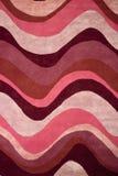 Texture de tapis d'ondes Images libres de droits