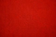 Texture de tapis rouge Photographie stock
