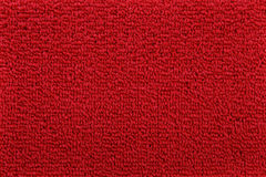 Texture de tapis rouge Photos libres de droits