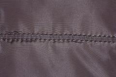 Texture de textile avec la couture Photo libre de droits