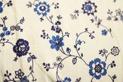 Texture de textile de fond naturel à plat Image stock
