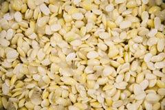 Texture de texture de haricot de soja Nourriture saine et concept de régime Images libres de droits
