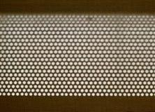 Texture de tissu avec des trous Photo libre de droits
