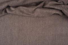 Texture de tissu de Brown pour le fond Images stock