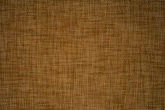 Texture de tissu de Brown Photos libres de droits