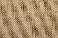 Texture de tissu de Brown pour le fond Photo libre de droits