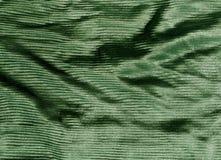 Texture de tissu de couleur verte Image libre de droits