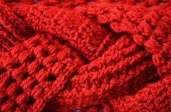 Texture de tissu de crochet de tresse Photo libre de droits