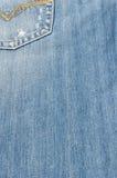 Texture de tissu de jeans Photo stock