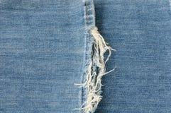 Texture de tissu de jeans Photos stock