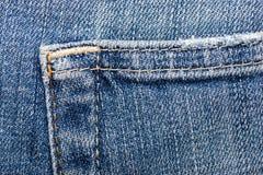 Texture de tissu de jeans Photographie stock