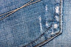 Texture de tissu de jeans Photo libre de droits