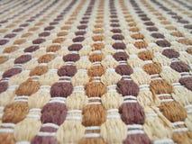 Texture de tissu de tissage Photos libres de droits