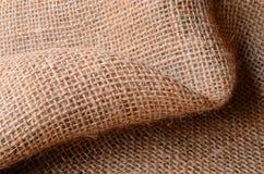 Texture de tissu de toile de jute Image stock
