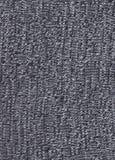 Texture de tissu noir et blanc tricoté Photographie stock