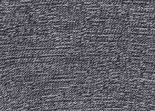 Texture de tissu noir et blanc tricoté Photos stock