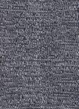 Texture de tissu noir et blanc tricoté Photos libres de droits