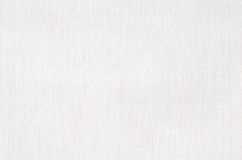 Texture de tissu ou fond blanche, toile blanche Image libre de droits