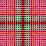 Texture de tissu de tartan Illustration Stock