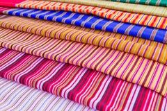 Texture de tissu thaï Photo stock