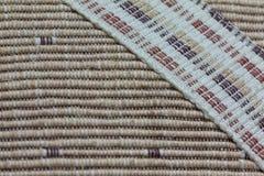 Texture de tissu tressé Photographie stock