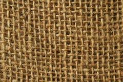 Texture de toile à sac photo libre de droits