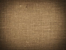 Texture de toile de Brown Photos libres de droits