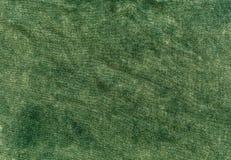 texture de toile de couleur verte Photo libre de droits