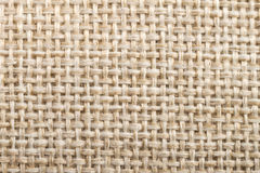 Texture de toile de tissu naturel pour la conception, toile à sac texturisée bro Photos libres de droits