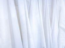 Texture de toile de tissu naturel pour la conception Toile à sac texturisée Whi Photos libres de droits
