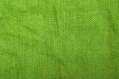 Texture de toile verte Photo stock