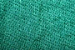Texture de toile verte Photographie stock