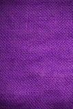 Texture de toile violette Images stock