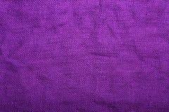 Texture de toile violette pour le fond, Image stock