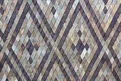 Texture de toit carrelé gris photographie stock