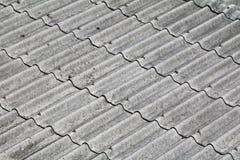 Texture de toit de tuile pour le fond Images libres de droits