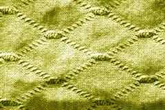 Texture de tricotage dans le ton jaune Images libres de droits