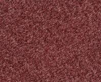 Texture de tricotage de tissu de couleur rouge Photo libre de droits
