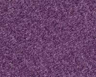 Texture de tricotage de tissu de couleur violette Photos libres de droits